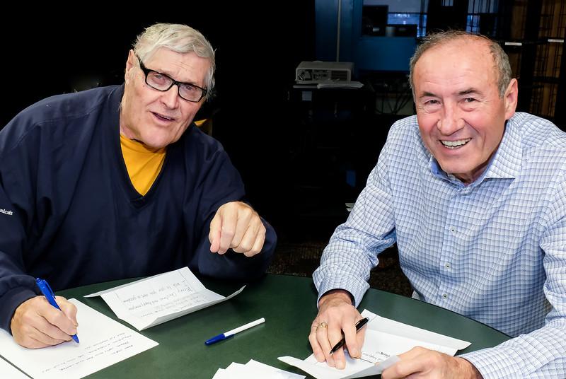 John Hastings and Gaston Bottero from RTW