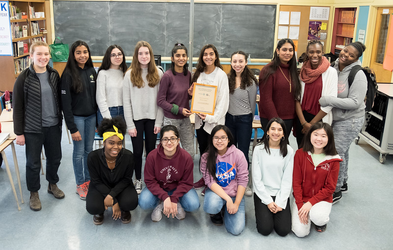 Richview's Interact Club has been very busy since it was chartered. The Club raised money for the Fight against polio on End Polio Day, raised money for children in Africa, packed food with Kids Against Hunger, wrote Santa letters to children in the Philippines, attended a Rotary conference in Niagara and helped out with Youth Impact Awards in January and some of you even attended the International Rotary Convention last spring.....a very busy and impressive schedule!