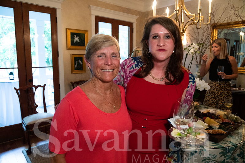 Kathleen Benton and Debbie Fischer