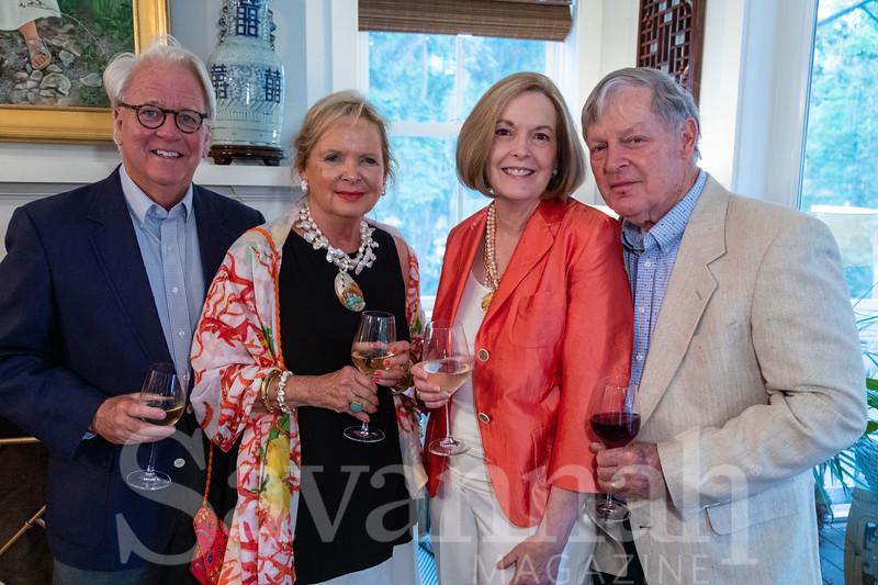 Johnny & Patsy Power, Mary & Ron Reese