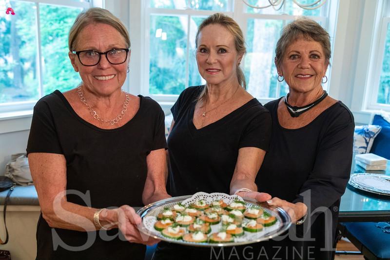 Patti Ann Tyre, Linda Davis, Ann Famy