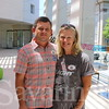 Tim Poole and Liz Stromki