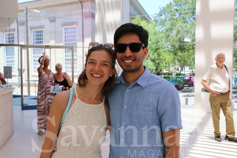 Leslie Church and  Rizwan Huq