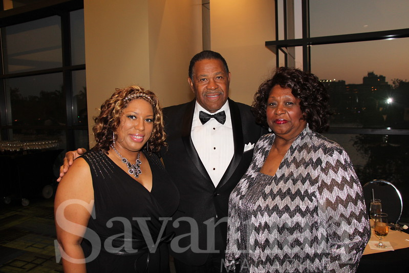 Michelle Martin, Alton Wright and Vera Wright