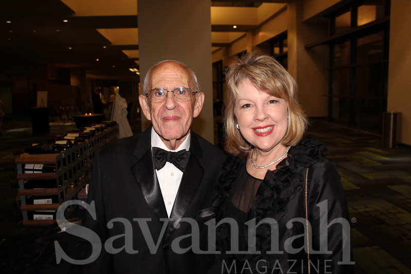 Dr. Carl Rosengart and Charlotte Anderson