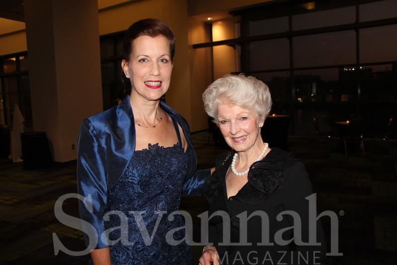 Liz Lubrani and Dotty Davis