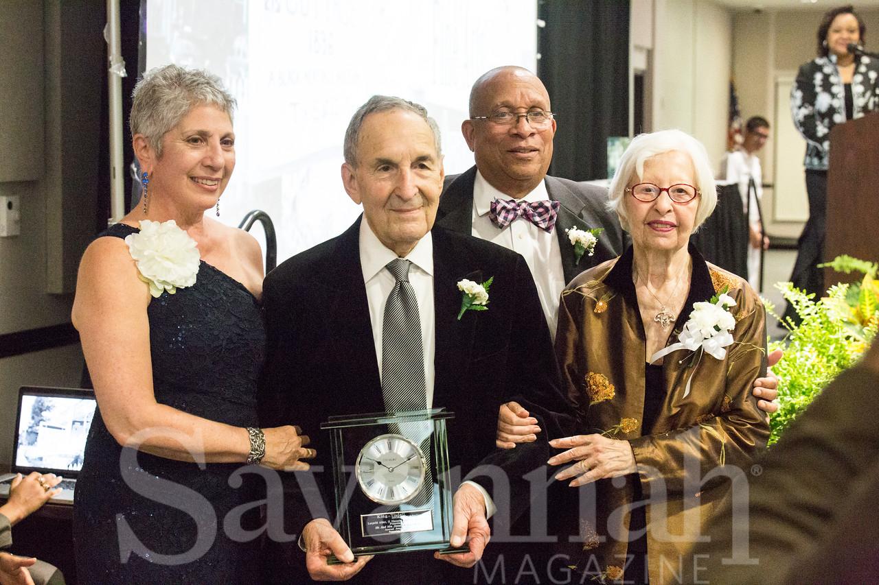 Tana Flagg, Donald Kole, Ron Flagg and Kaye Kole