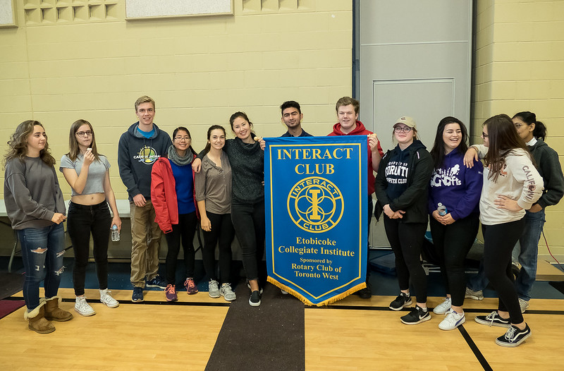 Interact Club Chapters are sponsored by local Rotary Clubs in order to encourage student involvement in Community and International projects.
