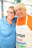 Event Co-organizer Patti Wright with Don Foster, both of Rotary Toronto West