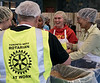 Rotarians love working for a good cause!