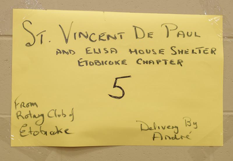 Five will go to St Vincent de Paul
