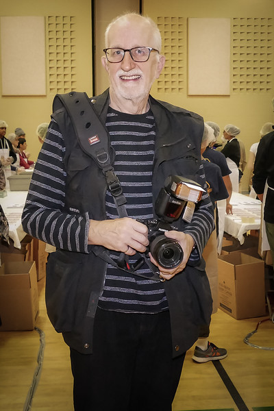 """Gillian introduced """"yours truly"""" John Stevenson of Rotary Toronto West. Once again, taking photographs - my passion!."""