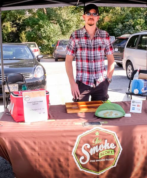 The Smoke Bloke: Ethically & sustainable raised Canadian salmon, cured, smoked & hand sliced