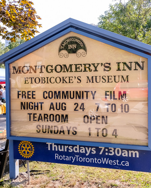 Montgomery's Inn is located Just east of Islington Ave at 4709 Dundas Street West in Etobicoke