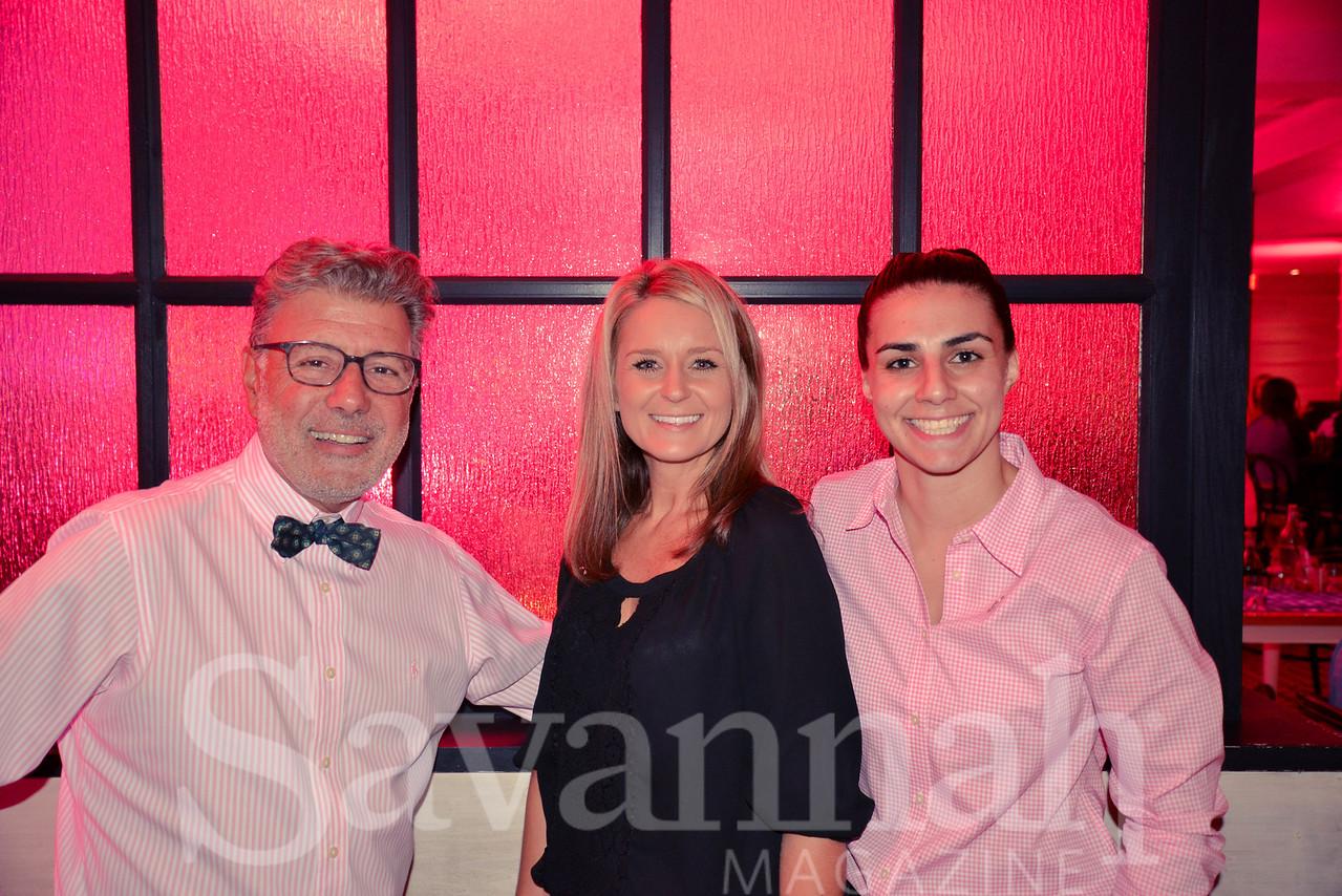 Paul, Brandi, and Amber of Pacci