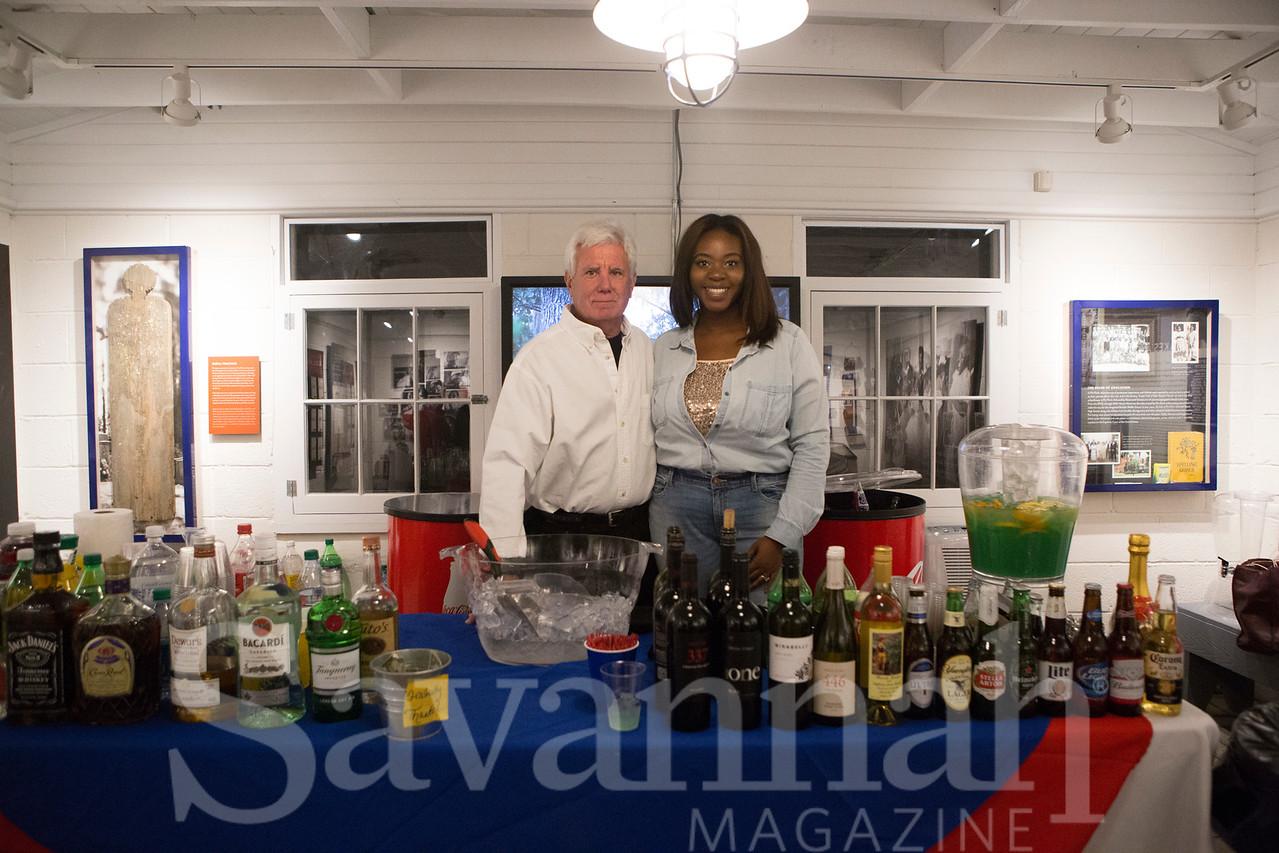Wayne Franklin and Akeelia Williams