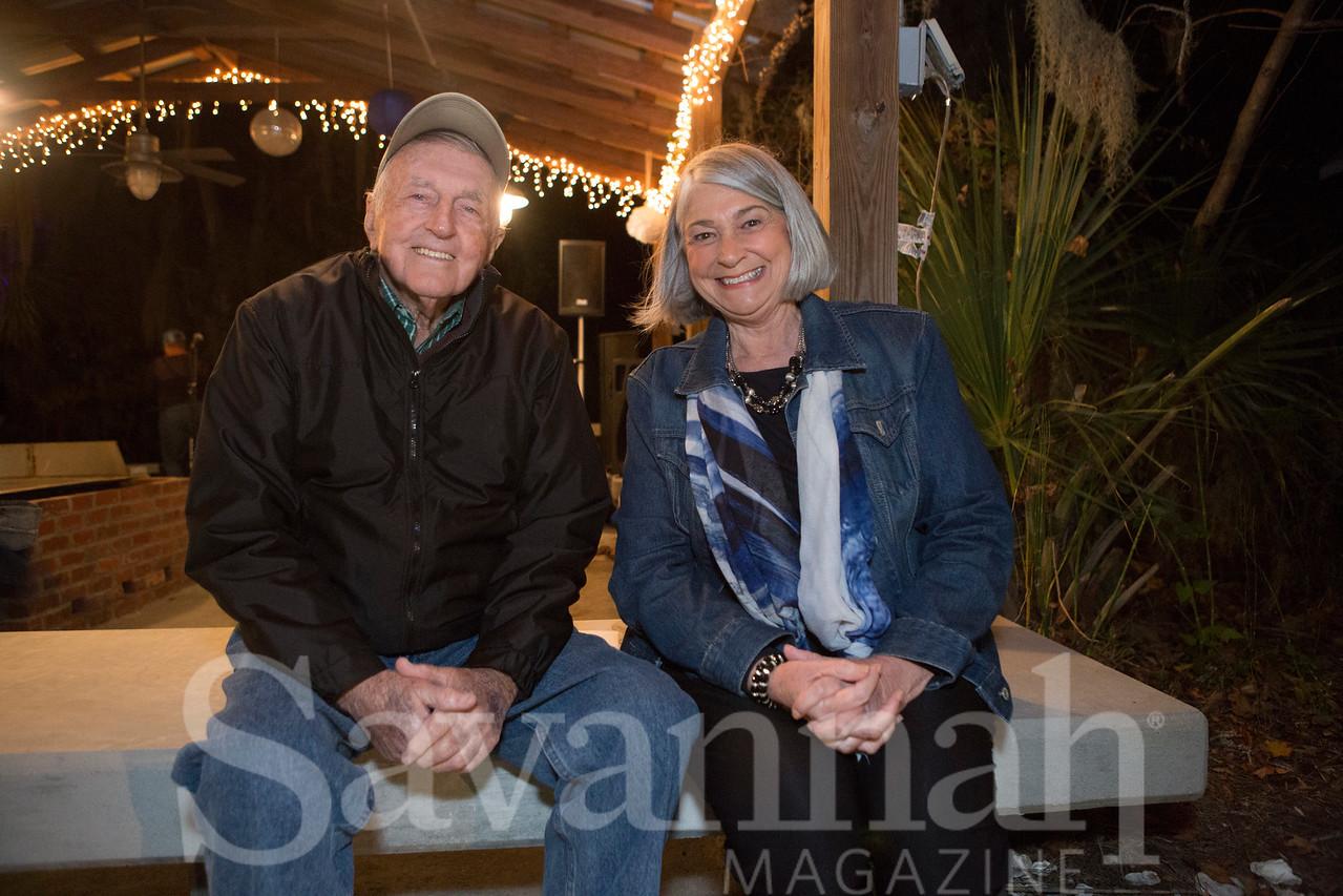 John Burke and Kathleen Brown