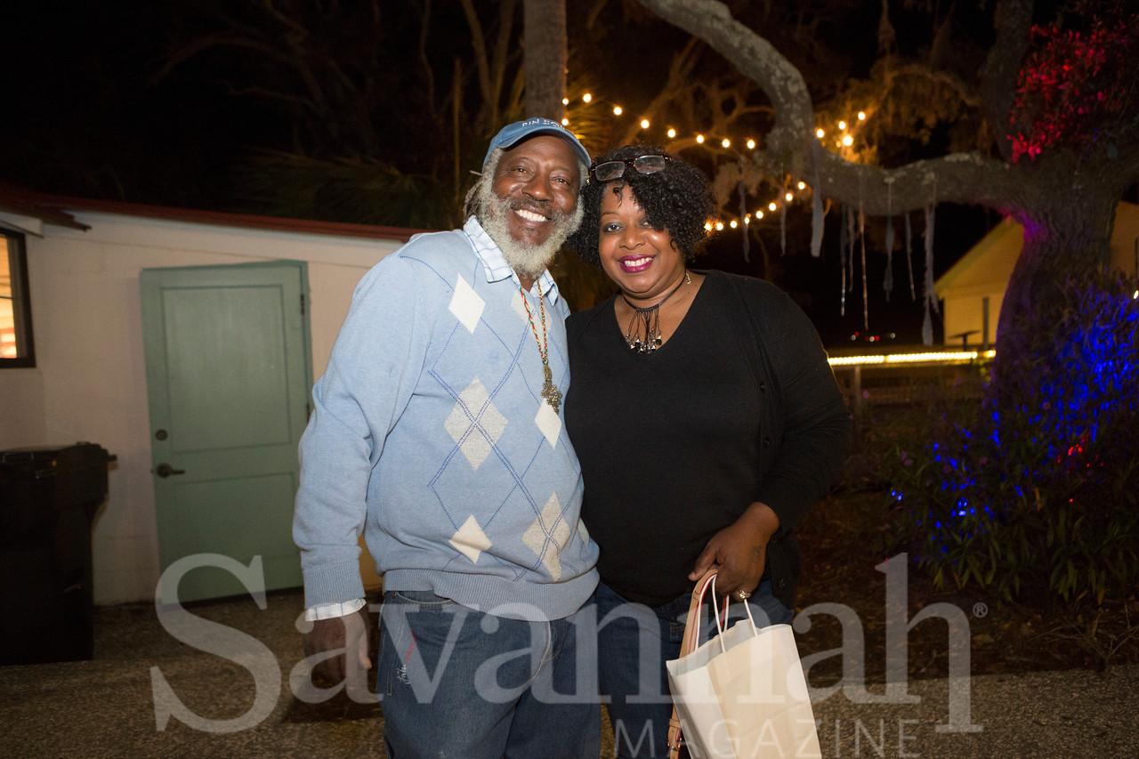 Hanif Haynes and Deneen Knight