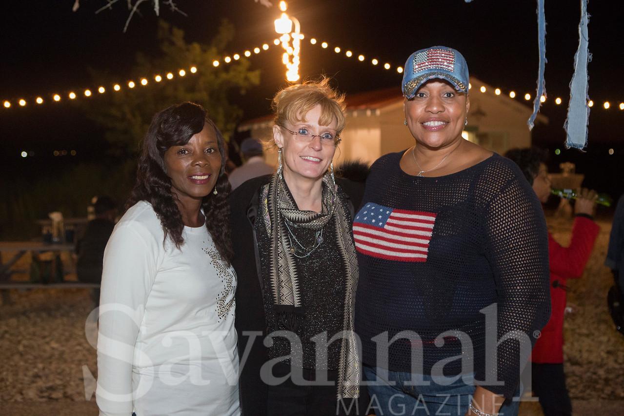Tania Smith-Jones, Lydia Moreton, and Gail Smith