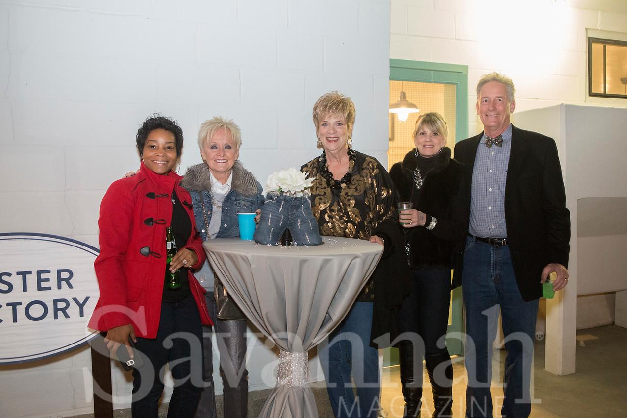 Janza Durham, Sue Landuyt, Kaye Burch, Melissa Tyson, and John Landuyt