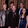 Recipients, L-R: Dr Roberta Bondar, Jessica  & Derek Reid - (FEAT) rear,  Michael Prosserman (individual) , Stephanie Wang (under 25)