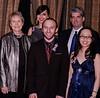 Recipients, L-R: Dr Roberta Bondar, Jessica  & Derek Reid - (FEAT) rear,  Michael Prosserman (individual) , Stephanie Wang (under 25)