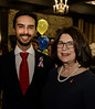 RYIA Recipient (under 25) Jaxson Khan  with RTW member Jeanne C