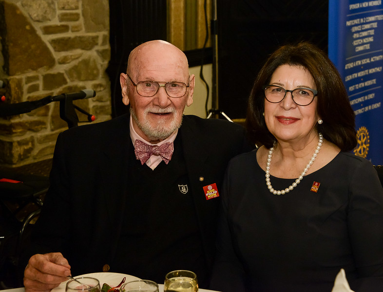 Zeke O'Connor, 2010 RYIA Lifetime Achievement Recipient with RTW member Jeanne C