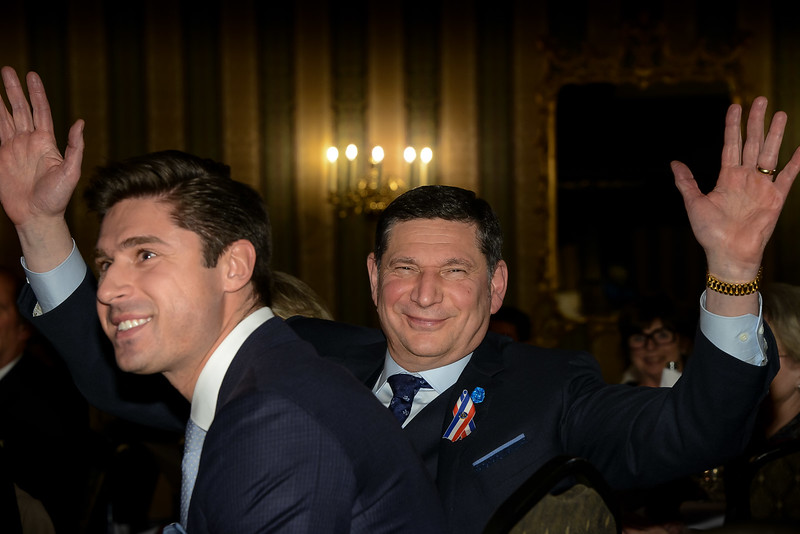Tom with his son - a happy and proud family!