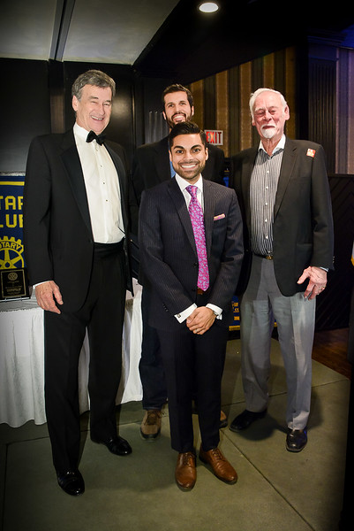 """Murray S joins in to round out the """"too tall"""" team.  Colin is """"dwarfed"""" by these giants!"""