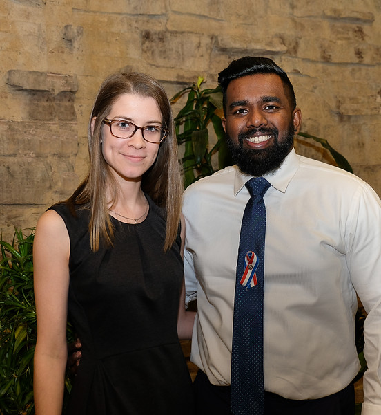 "Taylor Jennings and Dhakshan Ravibalan of the ""YMCA of Greater Toronto - Summer Day Camps"" for the Community Organization award."