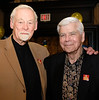 Murray Smith of Westmount Galleries, a steadfast table sponsor each year, with good friend Dr. Bruce Merrick