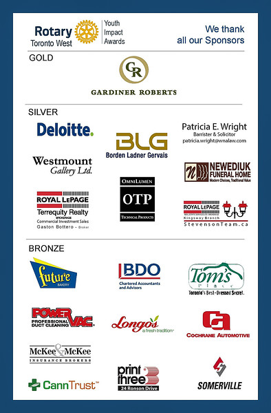 """A huge """"Thank you"""" to all the sponsors, donors, guests and volunteers  who so generously supported this event."""