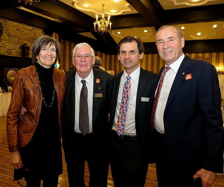 RTW members Kim Newediuk, Willis Rudy, Mike Newediuk, and Gaston Bottero