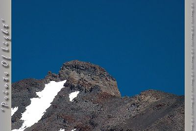 This rock juts out above the ridge on Mount Shasta in California.  Perfectly blue skies formed an undeniable image for me to capture the portrait of what is, in reality, just a bunch of rock.  I love rocks.