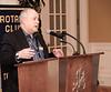RTW President Stephen Thiele welcomes guests and Emcee John McLellan