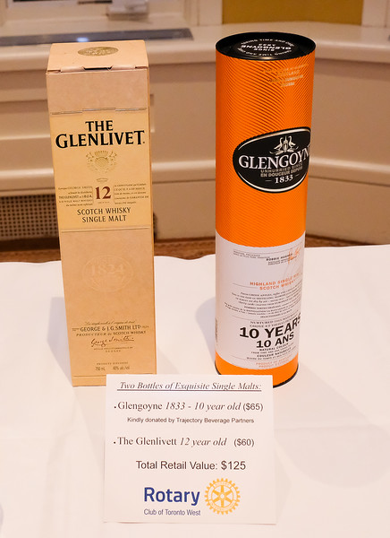 Glengoyne 1833 10 year old, kindly donated by Trajectory Beverage Partners, a frequent donor over the past few years.