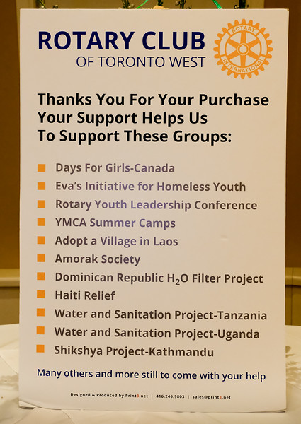 Some of the many projects RTW supports, both local and international.
