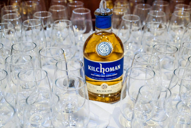 Two bottles kindly donated by Kilchoman Distilleries