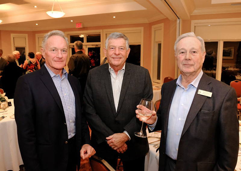 Rotarian Mark Dawber on right has been chair of the Scotch Nosing event for most of the past ten years.