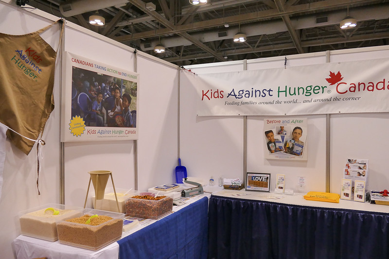 "Our local Rotary clubs have helped feed thousands through this terrific organization ""Kids Against Hunger"""