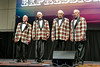 RTW Rotarian Don Foster (far right) has been singing for many years.!