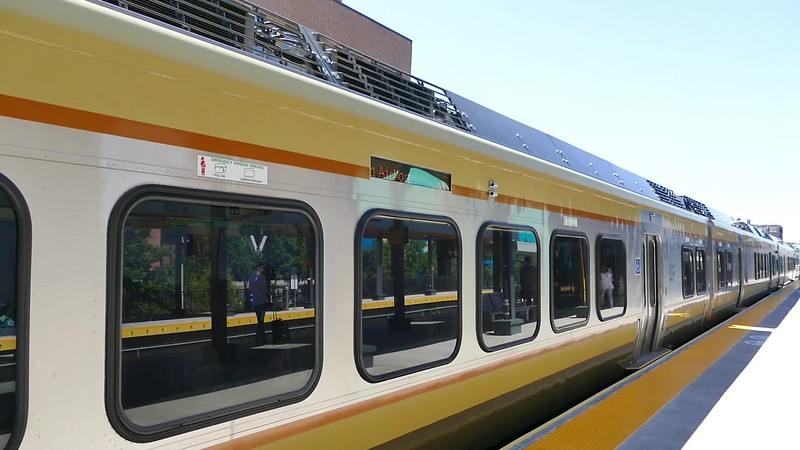 view the 8 second clip of the UP Express leaving for the Pearson Airport