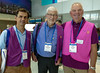 Volunteers Mike and Paul from our Rotary Toronto West and Scott from Colburg, Ontario