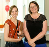 """Nadine and Dr Jennifer Bazaar from the """"Lakeshore Grounds Interpretive Centre"""" on the Humber College Campus"""