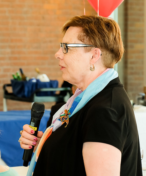 7810  District Governor  Iris Sullivan,  from New Brunswick, Canada.