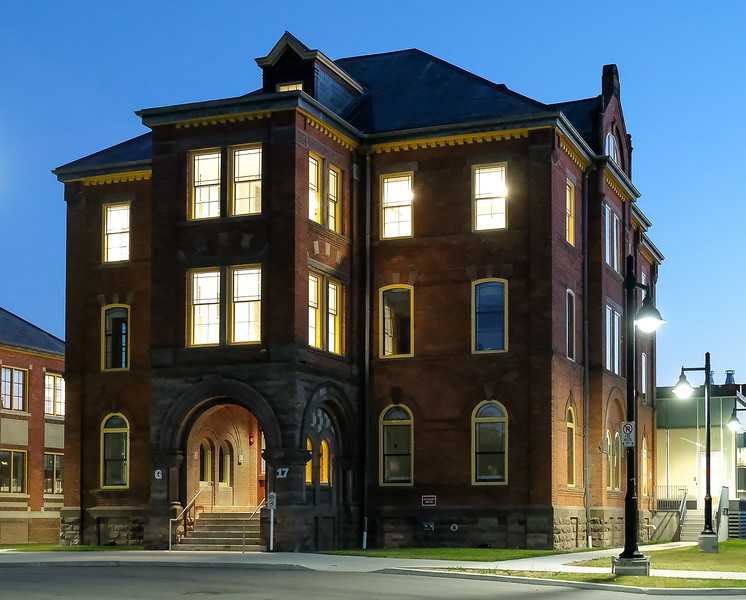 """The evening has ended, guests have left, but this historic building is """"glowing with pride"""" that it could host this event and welcome so many visitors.  As are our Rotary Toronto West members and volunteers who helped make this possible.  Best wishes to all - and keep """"Making a Difference!"""