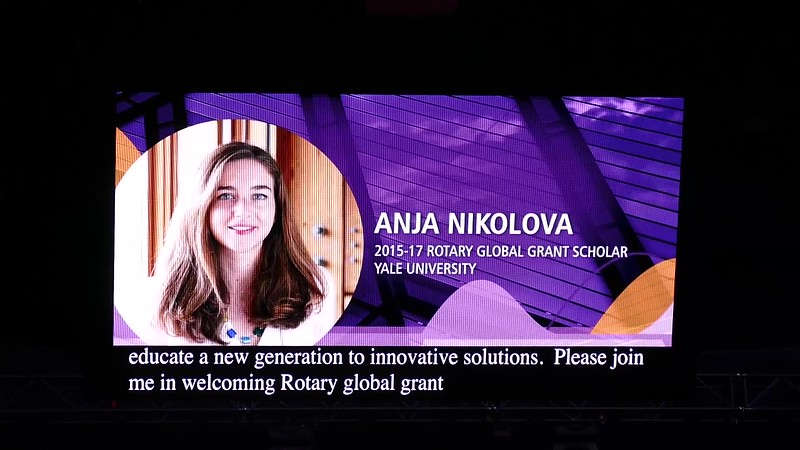 Seq 2 June 27 Wed  - Anja Nikolova - Rotary Global Grant Scholar - Yale University