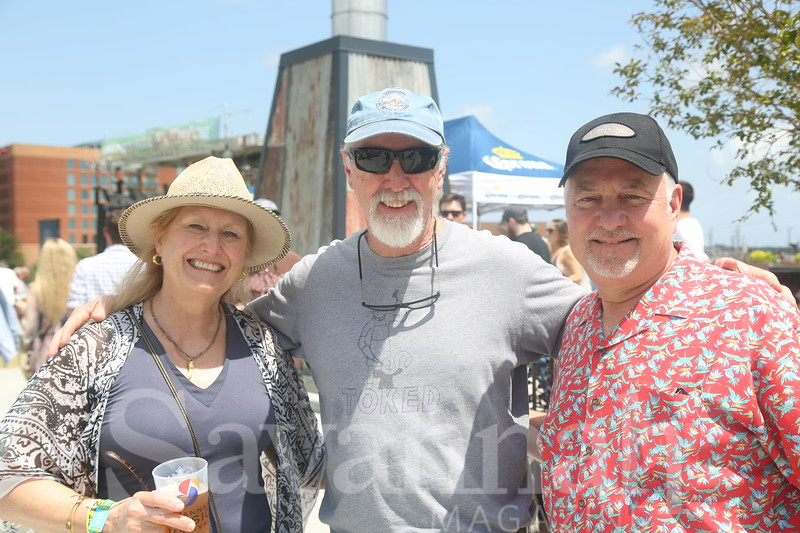 Suzanne Bryan, Bob Bernard and Jim Bryan