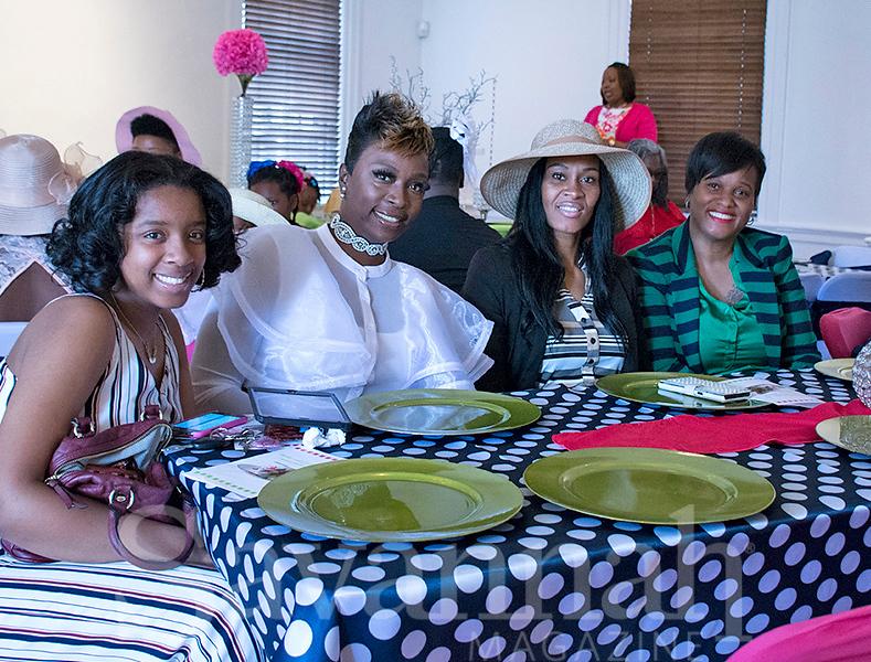 Micheria Singleton, Juquetda Green, Savarda Stephens and Lacey Singleton